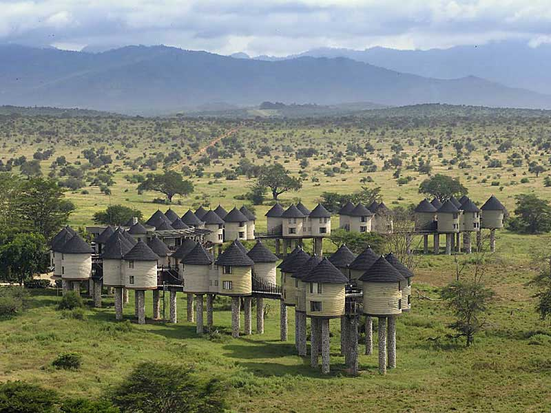 Kenya -Taita Hills Sanctuary - Sarova Salt Lick Lodge