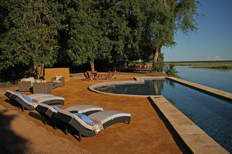Zambie - Lower Zambezi NP - Sausage Tree Camp