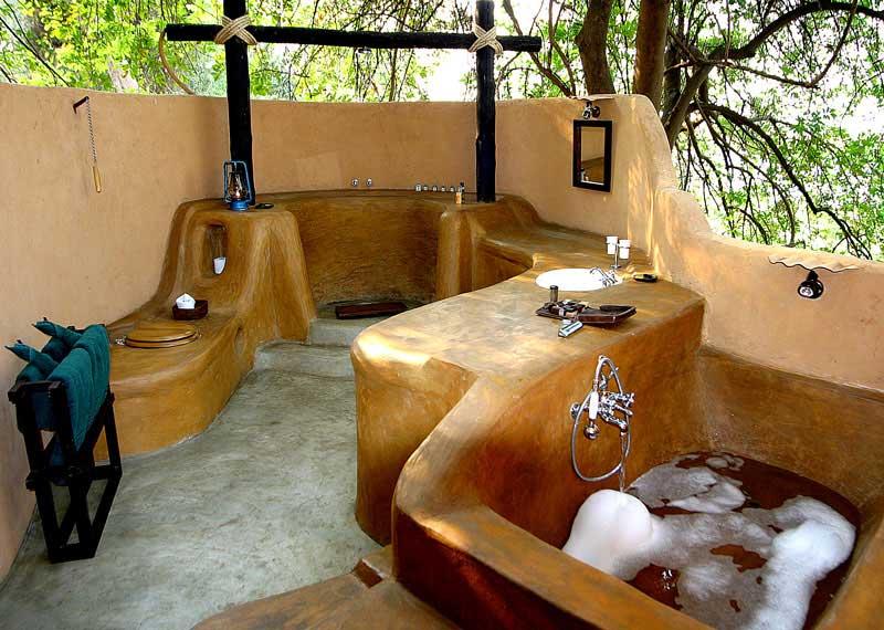 Zambie - Lower Zambezi NP - Sausage Tree Camp - tente standard