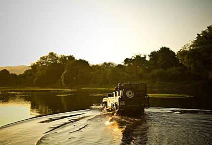 safari 4x4 au Lower Zambezi