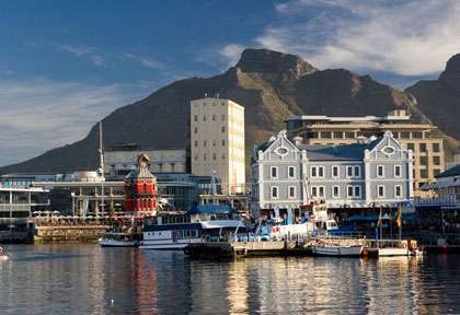 waterfront de Cape Town